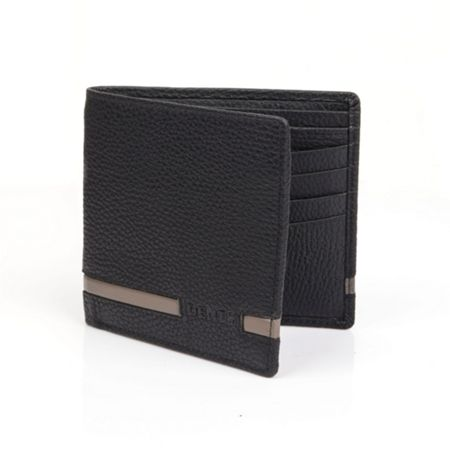 Dents Mens Stripe Bi-Fold Wallet