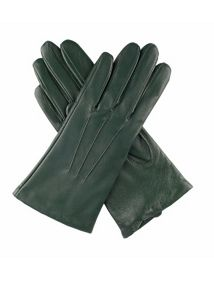 Dents Ladies leather cashmere lined gloves