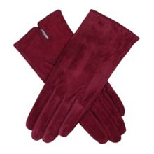 Dents Ladies plain suede gloves