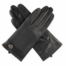 Dents Ladies quilted back leather gloves