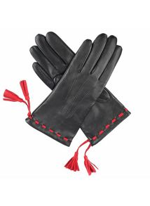 Ladies classic gloves with 3 points