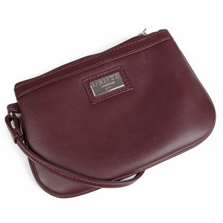 Dents Ladies clip purse with strap