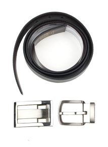 Dents Mens reversible belt in gift box