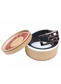 Dents mens leather belt in a gift box
