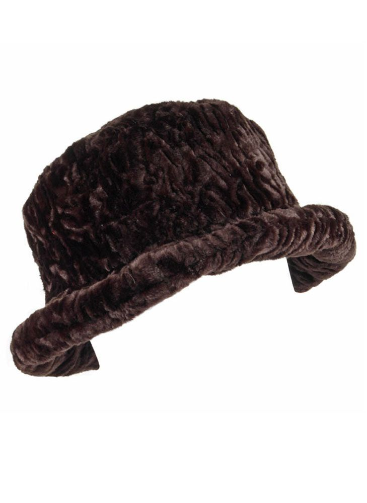 Dents Faux astrakhan fur hat $29.00 AT vintagedancer.com