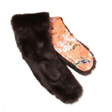 Dents Faux fur scarf
