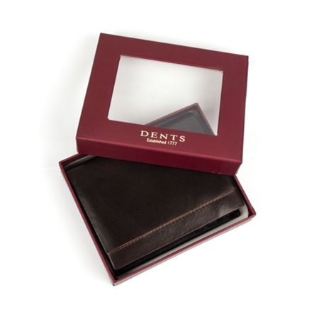 Dents Mens contrast leather wallet