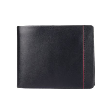 Dents Mens bold leather billfold wallet