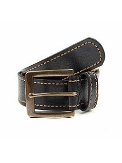 Mens casual leather belt