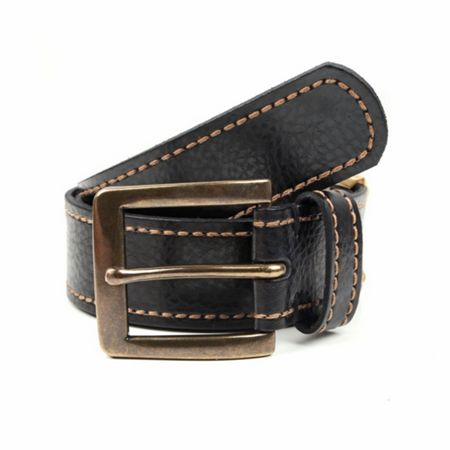 Dents Mens casual leather belt