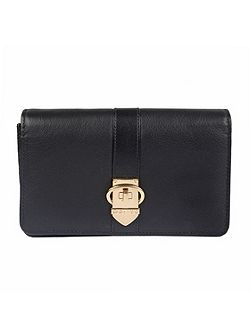 Ladies flap over purse with strap