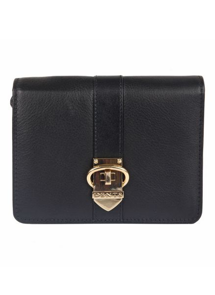 Dents Soft leather purse with buckle detail
