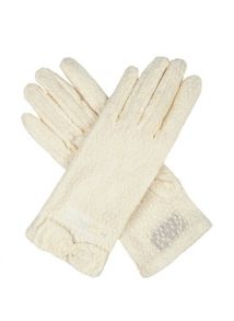 Dents ladies pastel lace glove