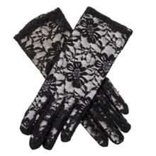 Dents ladies lace evening glove