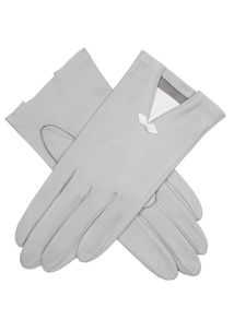 Dents Leather glove with small bow