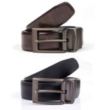 Dents Mens reversible leather belt