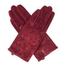Dents Ladies classic pigsuede glove with acryl
