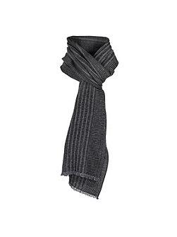 Mens two tone italian woven scarf