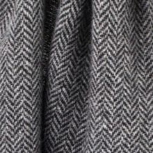 Dents Mens herringbone italian woven scarf