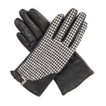 Dents Womens gloves with touchscreen leather