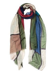 Dents Women`s square printed scarf