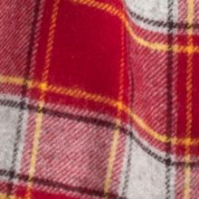 Dents Mens check lambswool scarf