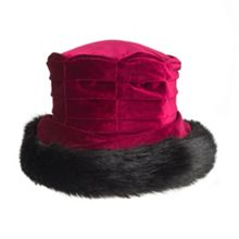 Dents Ladies velvet hat