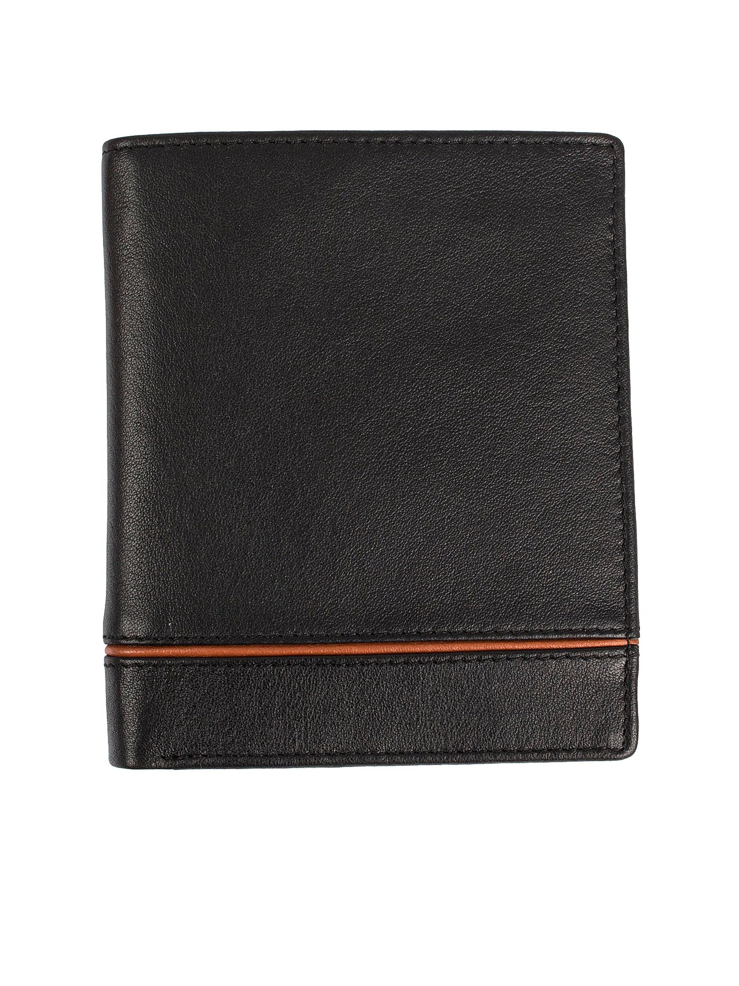 Dents Mens leather RFID protection wallet, Black