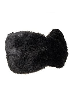 Women`s faux fur headband