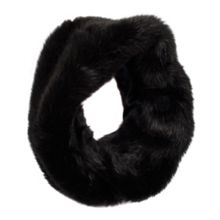 Dents Womens faux fur eternity scarf