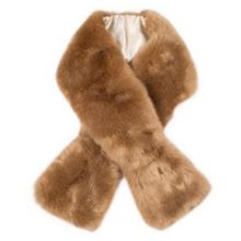 Dents Womens faux fur scarf