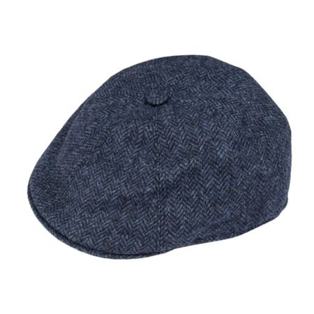 Dents Mens driver cap in abraham moon tweed