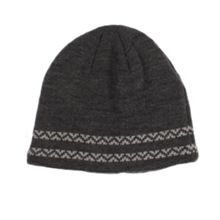 Dents Mens knitted hat with contrast detail