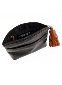 Dents Make up bag with tassle detail