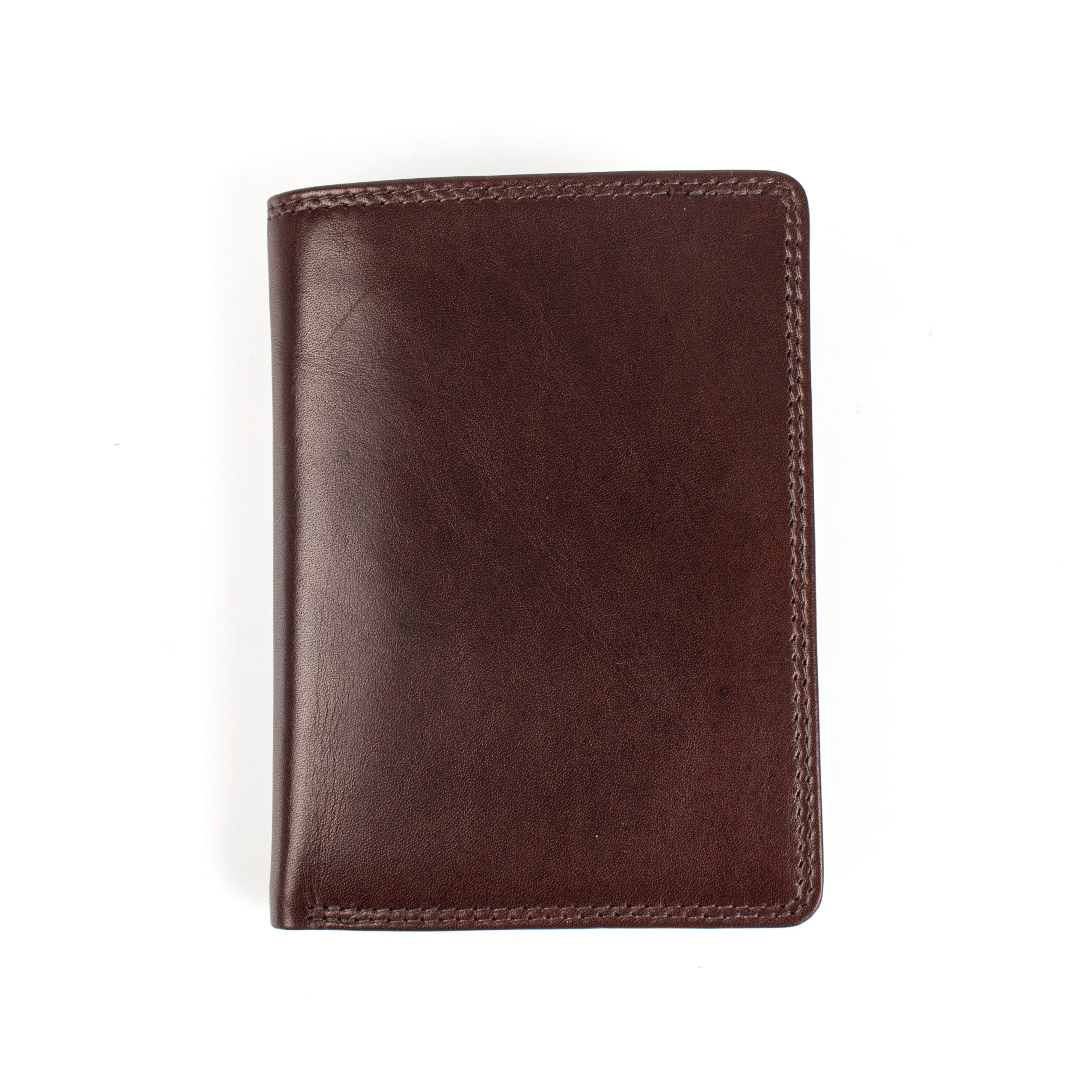Dents Dents Mens leather wallet with contrast lined, Brown