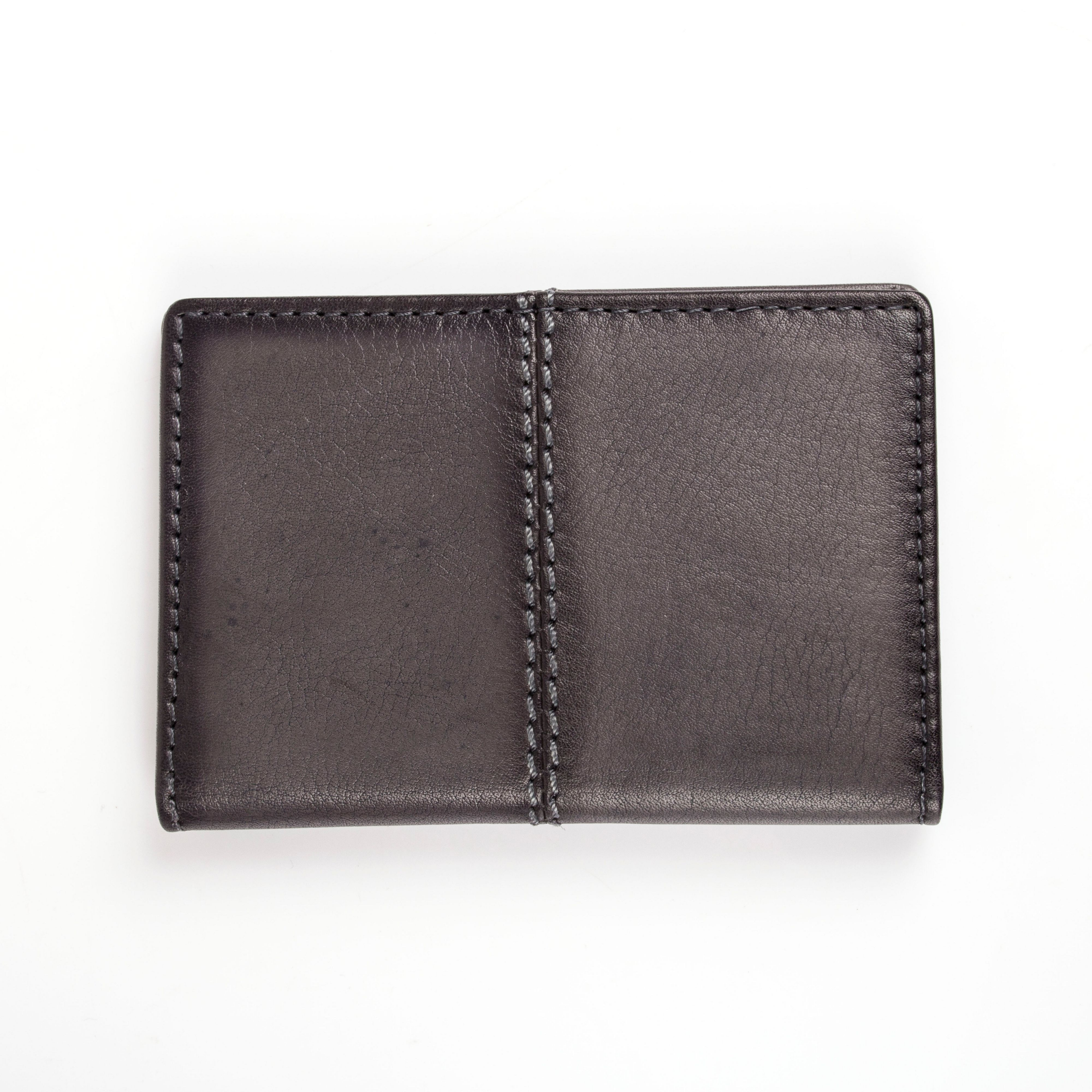Dents Dents Mens casual leather card holder, Slate