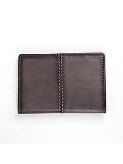 Mens casual leather card holder