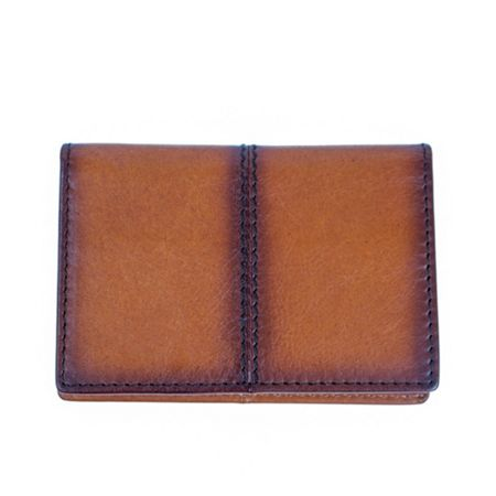 Dents Mens casual leather card holder
