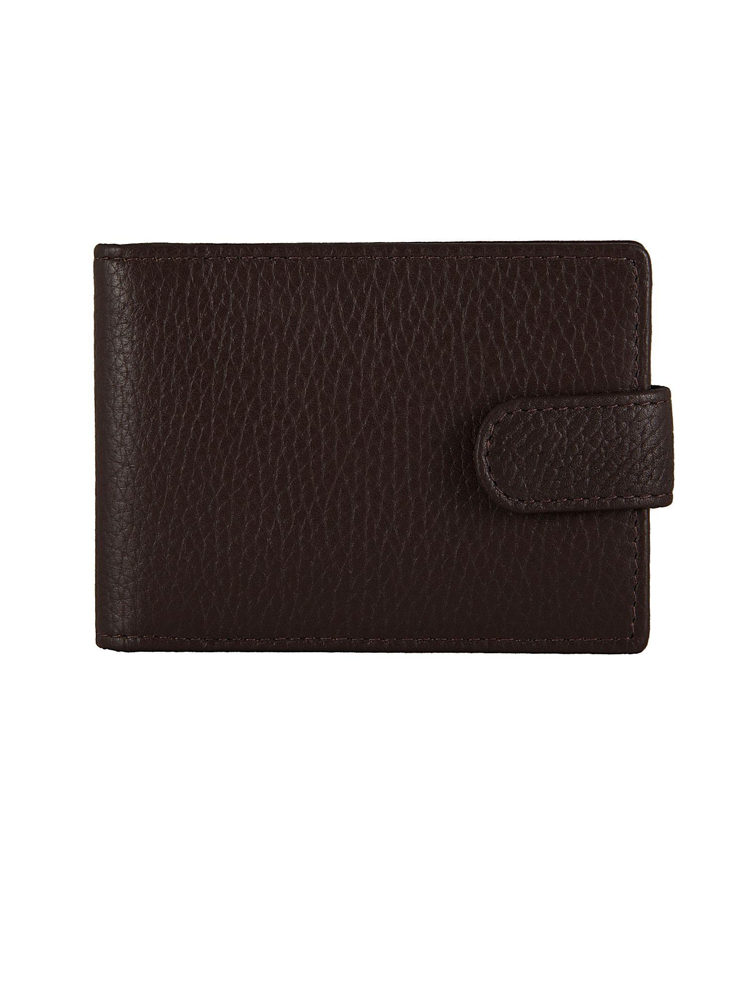 Dents Mens Rfid Protected Credit Card Holder, Chocolate