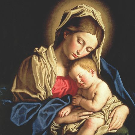 Special Editions Madonna & Child Cards, Pack of 10 (2 Designs)