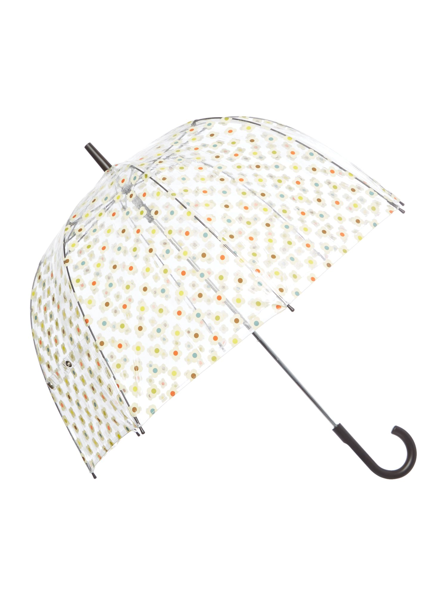 Vintage Style Parasols and Umbrellas Fulton Orla Kiely Floral Print Birdcage Umbrella £33.00 AT vintagedancer.com