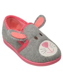 Girls ria the rabbit slipper