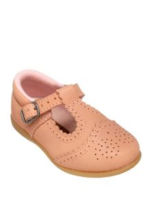 Girls pale pink shoe