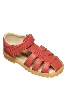 Boys red noah sandal