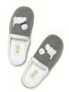 Freestep Westie novelty slippers