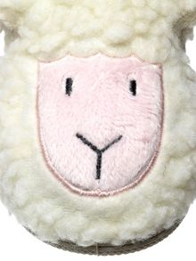 Girls lucky the lamb slipper