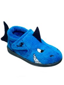 Boys shark slipper