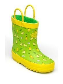 Girls chick wellingtons