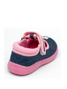 Girls Pandora Denim Canvas Shoe.
