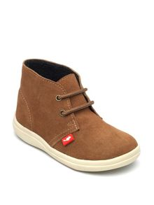 Boys Panther Suede Ankle Boot.